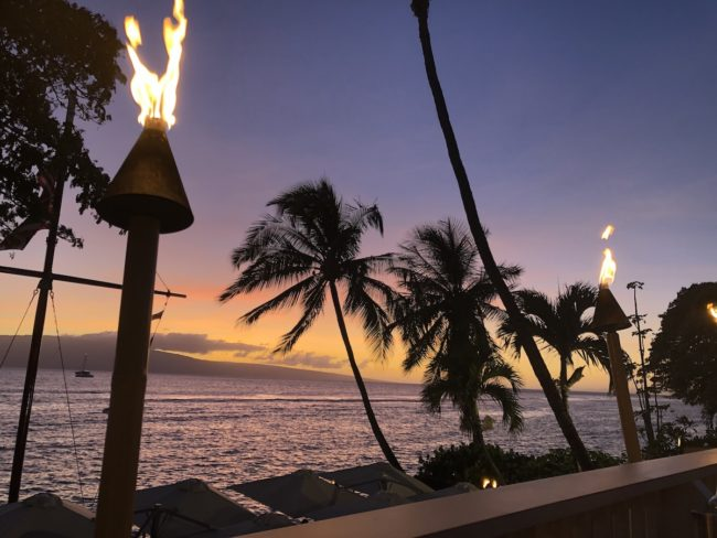 Virtual vacation in Maui