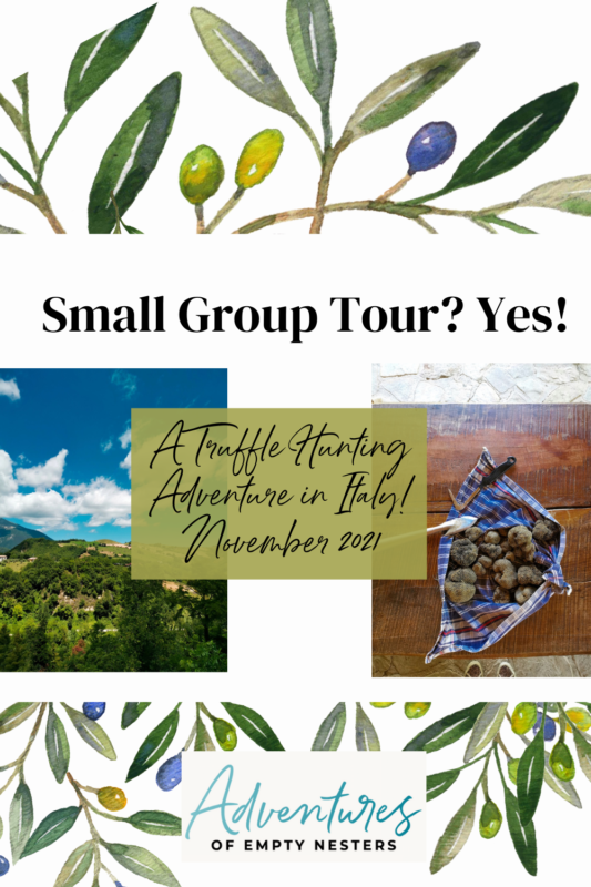 small group tour in Italy