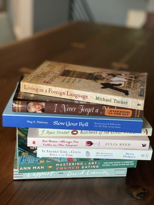books about food and travel