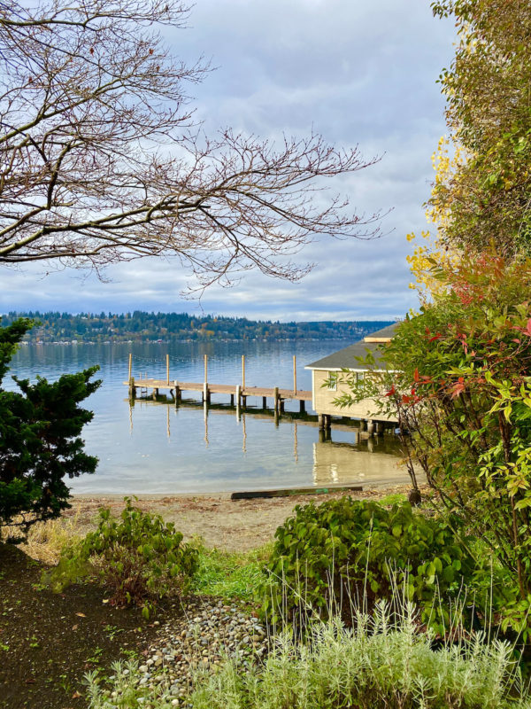 a boathouse on Lake Washington