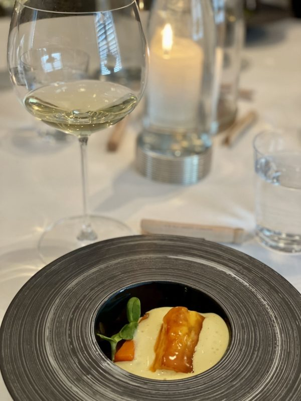 dining at the French Laundry
