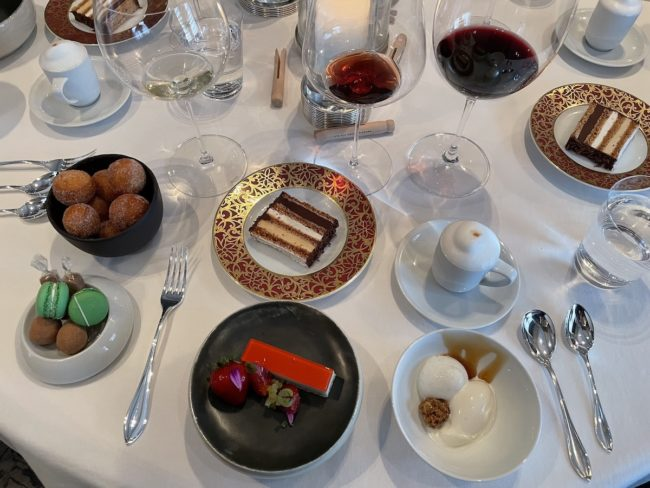 dessert at the french laundry