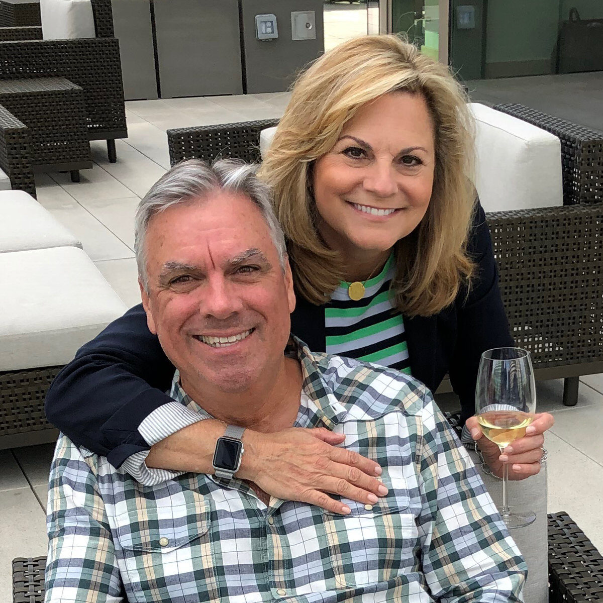 Suzanne and Craig of Adventures of Empty Nesters
